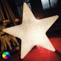 Estrella LED - Shining Star Merry Christmas