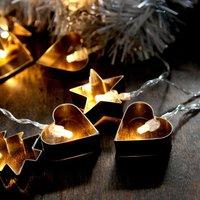 Guirnalda de luces LED Gingerbread