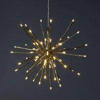 8 variantes - Lámpara LED decorativa Firework oro