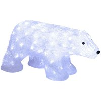 Figura LED Crystalo Oso Polar exterior 65 cm
