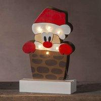 Lámpara decorativa LED Freddy Papá Noel