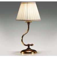 Lámpara de mesa Classic con armazón curvo