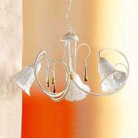 Lámpara colgante Gocce, 3 luces