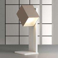 Lámpara de mesa LED Cubick color arena