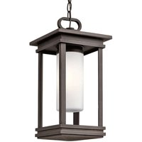 Lámpara colgante exterior South Hope rectangular