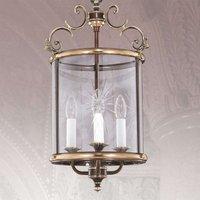 Lámpara colgante RAMIRA con forma de farola