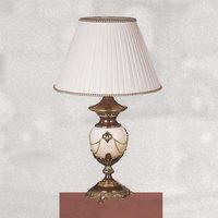 Lámpara de mesa PRESTIGE muy decorativa, 66 cm