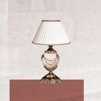 Lámpara de mesa PRESTIGE muy decorativa, 47 cm