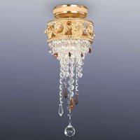 Pequeña lámpara de techo de cristal SanPetersburgo