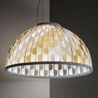 Slamp Dome lámpara colgante LED Ø 75 cm naranja