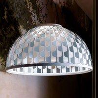 Slamp Dome lámpara colgante LED Ø 55 cm azul