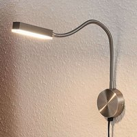 Aplique LED de brazo flexible Samari con sensor