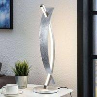 Lámpara de mesa LED Marija diseño plateado