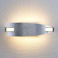 Aplique LED Marija de acabado plateado