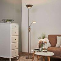 Lámpara de pie LED Josefin con luz de lectura