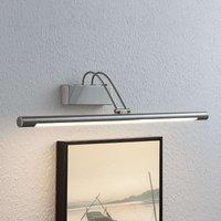 Lámpara para cuadros LED Mailine, níquel