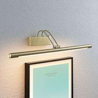 Lámpara LED para cuadros Mailine, latón