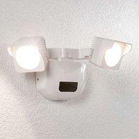 Aplique LED para exterior Alexine sensor, 2 luces