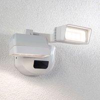Aplique LED para exterior Nikoleta sensor, 2 luces