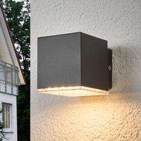 Aplique de pared exterior LED Lydia