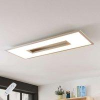Lámpara LED de techo Durun, CCT, angular, 96 cm