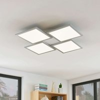 Lámpara LED de techo Ilira, CCT, 4 luces