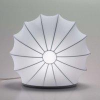 Axolight Muse tafellamp in wit, 33 cm hoog
