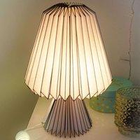 Tafellamp 578416 met opvouwbare papieren kap