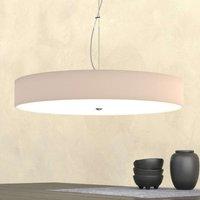 Hanglamp Alea, gemeleerd bruin