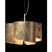 Fantastische hanglamp Papiro, 3-lichts, goud