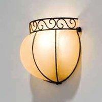 Handgemaakte wandlamp CORONA, 16 cm