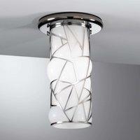 Fraaie plafondlamp Orione, roestvrij staal design
