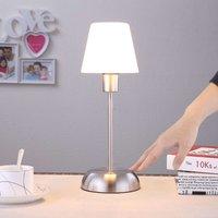 Gregor - tafellamp met glazen kap