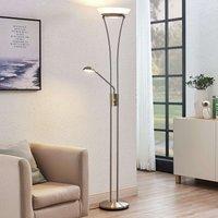 LED uplighter Amadou m. leeslamp, nikkel