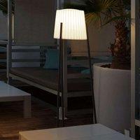 Moderne vloerlamp Barcino v. open lucht