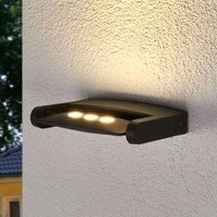 Keiran exterior wall spotlight with 3 Power LEDs