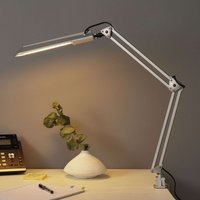 Lámpara para mesa de trabajo PRACY, en plata