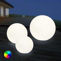 Lámpara exterior LED Shining Globe 30 cm