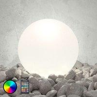Lámpara exterior LED Shining Globe 50 cm