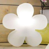 Alegre flor luminosa solar LED Shining Flower 40
