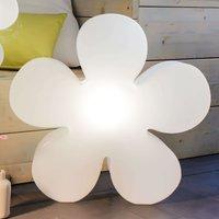 Alegre flor luminosa solar LED Shining Flower 60