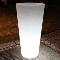 Lámpara macetero redonda SHINING POT altura 100 cm