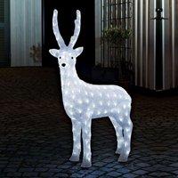 Stehendes Rentier - LED-Adeko m. Außentrafo