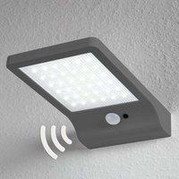 OSRAM DoorLED LED-Solar-Wandleuchte in Silber