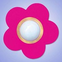 Waldi Deckenleuchte Petit Fleur, pink 1-flg. - rosa/pink