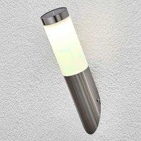 Solarbetriebene LED-Außenwandleuchte Jolla