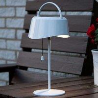 Solarbetriebene LED-Tischlampe Cervia - neigbar