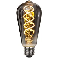 LED-Lampe E27 4W 2.100K Heavy Smoke Filament ST64