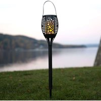 LED-Solarleuchte Flame, 3 in 1 umwandelbar