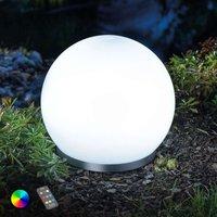 Schwimmfähige RGB-LED-Solarkugel Float 25 mit FB